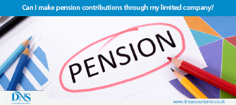 Can I make pension contributions through my limited company?