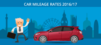 Car mileage rates 2016/17
