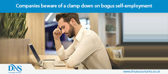Companies beware of a clamp down on bogus self-employment