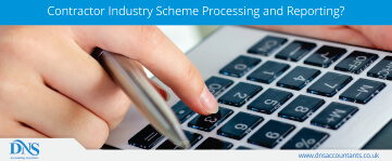 What are Contractor Industry Scheme Processing and Reporting?