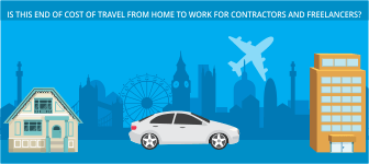 Is this end of Cost of Travel from home to work for Contractors and Freelancers?