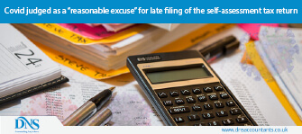 "Covid judged as a ""reasonable excuse"" for late filing of the self-assessment tax return"