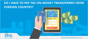Taxes on money transferred from a foreign country