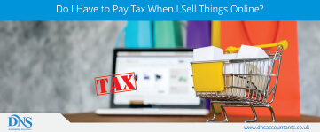 How Much Tax Do I Have to Pay When I Sell Things Online?