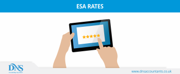 What are the Employment and Support Allowance (ESA) Rates for 2019/20?