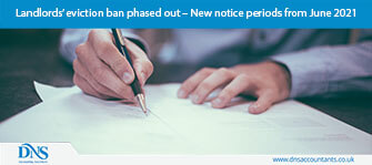 Landlords' eviction ban phased out – New notice periods from June 2021