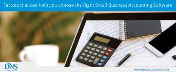 Factors that can help you choose the Right Small Business Accounting Software