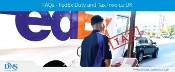 FAQs - FedEx Duty and Tax Invoice UK