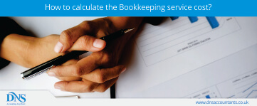 How to calculate the Bookkeeping service cost?