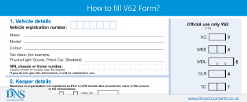 Download V62 Form for Applying V5C
