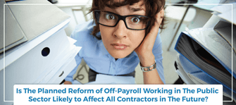 IR35: Off payroll public sector workers