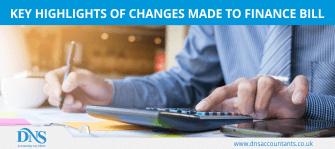 Finance Bill (No. 2), 2017 – Key Amendments| DNS Accountants