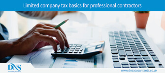 Limited company tax basics for professional contractors