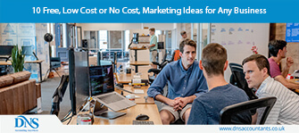 10 Free, Low Cost or No Cost, Marketing Ideas for Any Business