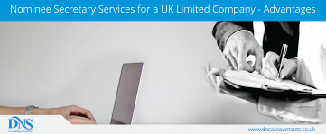 Nominee Secretary Services for a UK Limited Company - Advantages