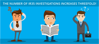 The Number of IR35 Investigations Increases Threefold!