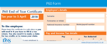 What is P60? | Download Form P60
