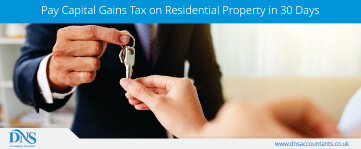 Pay Capital Gains Tax on Residential Property in 30 Days