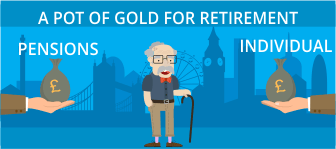 A Pot of Gold for Retirement.  Pensions or Individual Saving Accounts (ISAs), which is best?