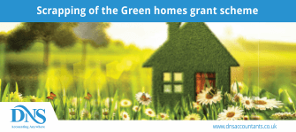 Scrapping of the Green homes grant scheme