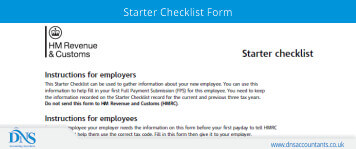 P46 - Download P46 Form & Starter Checklist