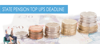 State Pension top ups deadline