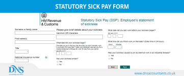 Statutory Sick Pay Form – Download Form for Employers & Employees