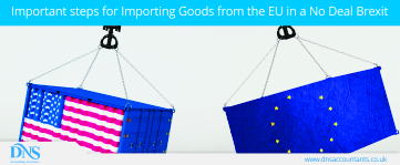 Important steps for Importing Goods from the EU in a No Deal Brexit