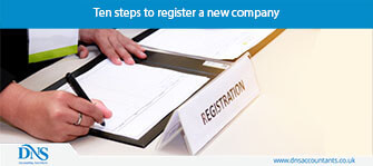 Ten steps to register a new company