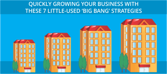 Quickly Growing Your Business With These 7 Little-Used 'Big Bang' Strategies