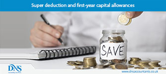 Super deduction and first-year capital allowances