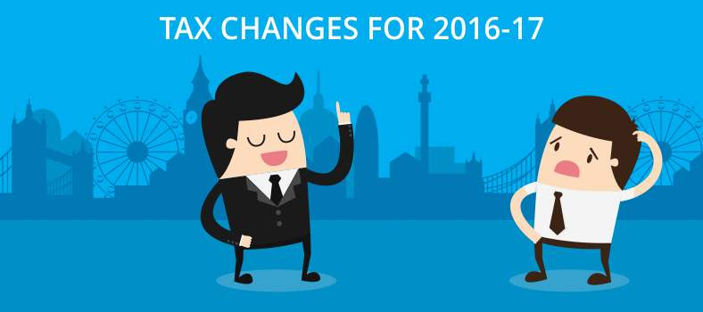 TAX CHANGES FOR 2016-17