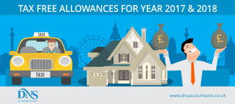 Know Your Tax Free Allowances for 2017/18