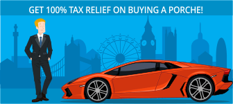 Get 100% Tax Relief on Buying a Porche!