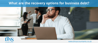 What are the recovery options for business debt?