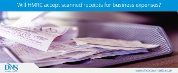 Will HMRC Accept Scanned Receipts for Business Expenses?