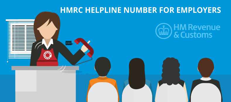 HMRC helpline Number