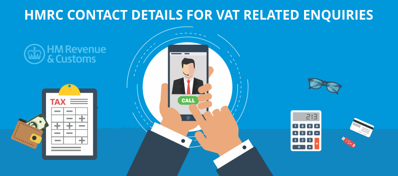 HMRC Contact Details for VAT