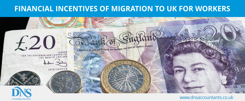 Financial Incentives of Migration to UK for Workers
