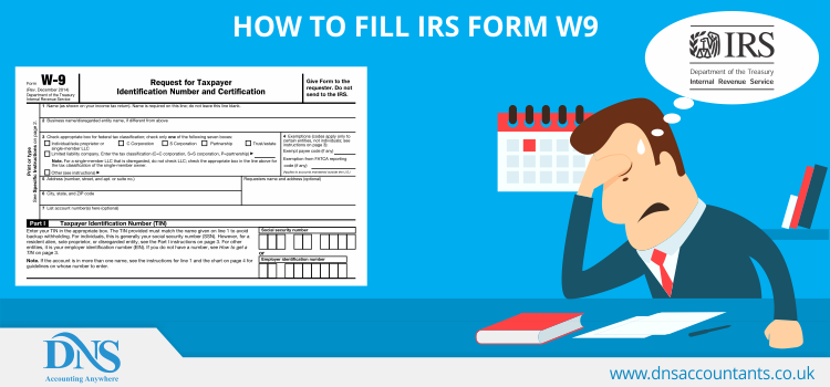 How to Fill IRS Form W9