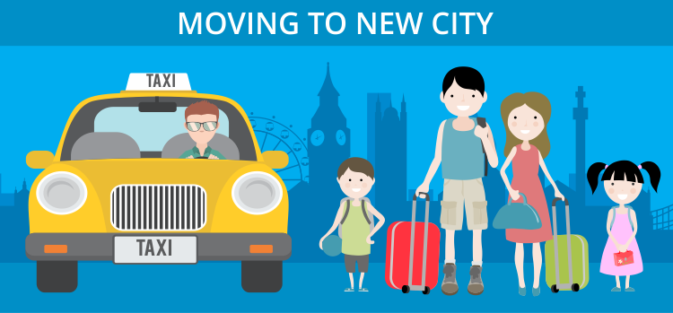 Moving to New City
