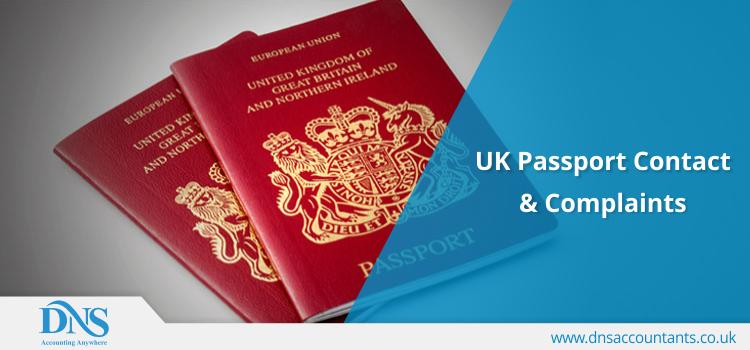 UK Passport Contact & Complaints