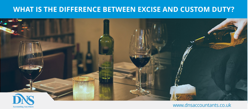 What is the difference between Excise and Custom Duty?