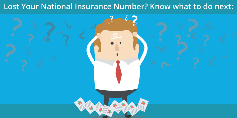 Lost Your National Insurance Number