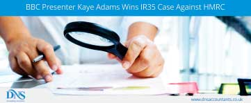 Breaking News: Presenter Kaye Adams Wins IR35 Case Against HMRC