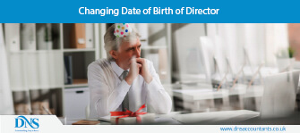 Changing Date of Birth of Director