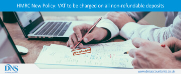 HMRC New Policy: Changes to VAT on Non-Refundable Deposits