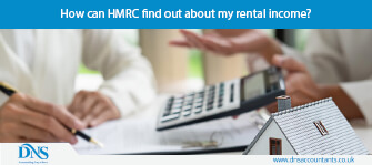How can HMRC find out about my rental income?