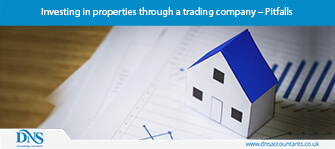 Investing in properties through a trading company – Pitfalls