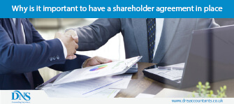Why is it important to have a shareholder agreement in place?